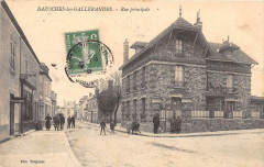 Bazoches Les Gallerandes Rue Principale (cliché pas courant - Bazoches-les-Gallerandes