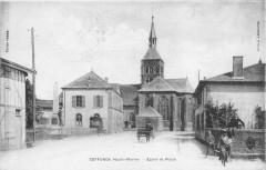 Ceffonds Eglise Et Place (cliché pas courant - Ceffonds