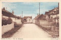 Binges Rue De Belleneuve (cliché pas courant - Binges