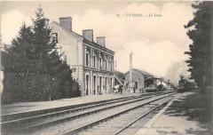 Vivonne La Gare (Train En Gare - Vivonne