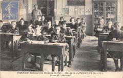 Orphelinat National Des Chemins De Fer Colonie D'Avernes Classe 1ERE Divi - Avernes