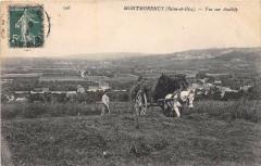 Montmorency Vue Sur Andilly (scene de fenaison - Montmorency