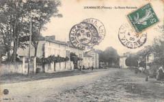 Lhommaize La Route Nationale - Lhommaizé