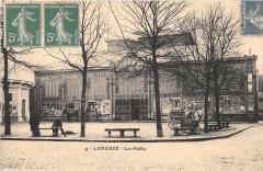 Langres Les Halles (cliché pas courant - Langres