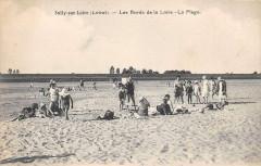 Sully Sur Loire Les Bords De La Loire La Plage (cliché pas courant - Sully-sur-Loire