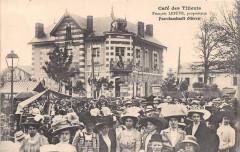 Cafe Des Tilleuls Francois Lefeve Proprietaire A Fourchambault Nievre - Fourchambault
