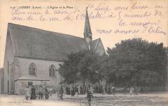 Loury L'Eglise Et La Place - Loury