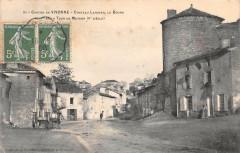 Canton De Vivonne Chateau Larcher Le Bourg Tour Metgon - Vivonne