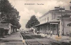 Saint Marcellin Voie Et Gare - Saint-Marcellin