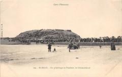 Saint Malo Un Pelerinage Au Tombeau De Chateaubriand (dos non divisé) - Saint-Malo