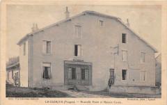 Le Clerjus Vosges Nouvelle Poste Et Maison Cornu (Boucherie Charcuterie - Le Clerjus