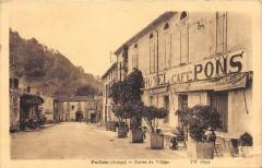 Pailhes Entree Du Village (devant le Cafe Pons - Pailhès