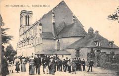 Cande Sortie De Messe - Candé