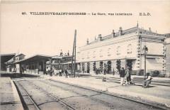 Villeneuve Saint Georges La Gare Vue Interieure 94 Villeneuve-Saint-Georges