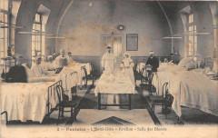 Pontoise L'Hotel Dieu Pavillon Salle Des Blesses - Pontoise