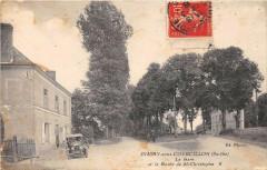 Dissay Sous Courcillon La Gare Route DeSaint-Christophe - Dissay-sous-Courcillon