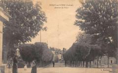 Sully Sur Loire Avenue Du Pont (cliché pas courant - Sully-sur-Loire