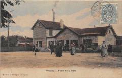 Groslay Place De La Gare - Groslay