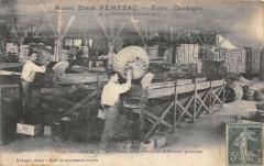Eymet Maison Ernest Pemezac Triage Mecanique De La Prune D'Ente Pour Obte - Eymet