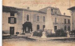 Lent Monument Aux Morts Et Hotel De Ville - Lent