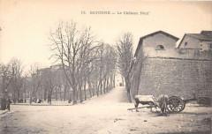 Bayonne Le Chateau Neuf (dos non divisé) - Bayonne
