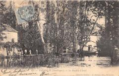 Tremolat Le Moulin D'Aval (dos non divisé) cpa rare!! - Trémolat