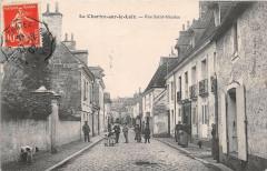 La Chartre Sur Le Loir Rue Saint Nicolas - La Chartre-sur-le-Loir