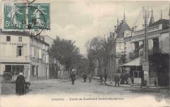 Cognac Entree Du Boulevard Denfert Rochereau - Cognac