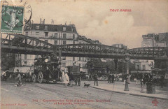 Carrefour des Rues d'Allemagne, Secrétan et Lafayette - Paris 10e