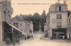 Villeneuve Saint Georges Entree Du Parc 94 Villeneuve-Saint-Georges