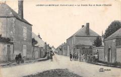 Loigny La Bataille La Grande Rue Et Route D'Orgeres - Loigny-la-Bataille