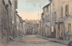 Saint Ouen L'Aumone Saint Maclou De Pontoise Vue De La Rue Haute Aumone - Pontoise