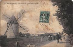 L´EGUILLE Le Village De Chalon Pres L'Eguille Moulin A Vent - L'Éguille
