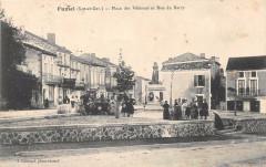 Fumel Place Des Veterans Et Rue Du Barry - Fumel