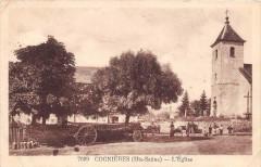 Cognieres L´EGLISE (cliché pas courant - Cognières