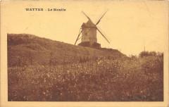 Watten Le Moulin (cliché pas courant - Watten