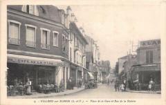 Villiers Sur Marne Place De La Gare Et Rue De La Station Cafe De La Gare 94 Villiers-sur-Marne