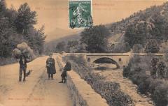 Arles Sur Tech Route Pont Et Tunnel Entre Amelie Et Arles - Arles-sur-Tech