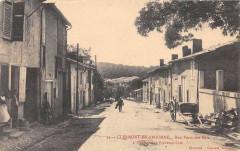 Clermont En Argonne Rue Porte Des Bois A L'Horizon Le Preventorium (clich - Clermont-en-Argonne