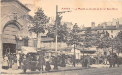 Nancy Le Marche Vu Du Cote De La Rue Saint Dizier - Nancy