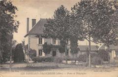 Les Barreaux Franchesse Postes Telegraphes - Franchesse