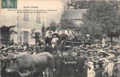 Saint Junien Char Limousin Contenant Les Laureats Du Concours De Barbiche - Saint-Junien