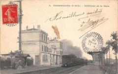 Goussainville Interieur De La Gare (Train En Gare - Goussainville