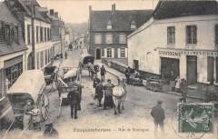 Fauquembergues Rue De Boulogne (cliché rare - Fauquembergues