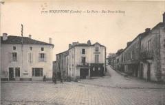 Roquefort Landes La Poste Rue Porte Le Rang - Roquefort