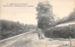 Joinville Le Pont Bords De La Marne Restaurant Du Tremblay (cliché pas co - Joinville-le-Pont