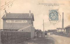 Eaubonne Route De Saint Leu A La Halte Des Cyclistes (cpa pas courante - Eaubonne