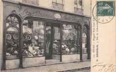Reims Magasin Style Louis Xv P.desanlis  Modes Parisiennes - Reims