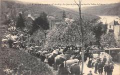 Lannion Loguivy Le Jour Du Pardon Au Fond La Vallee Du Leguer - Lannion