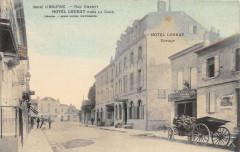 Libourne Rue Chanzy Hotel Loubat Pres La Gare (cliché colorisé pas couran - Libourne